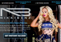 Nikki Benz Official site